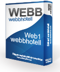 Webbfabriken Webbhotell paket