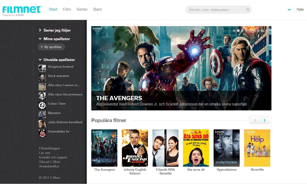 Filmnet lanserar ny sökmotor - Se filmer på nätet - streama filmer