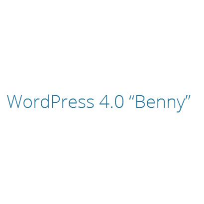 Wordpress 4 Benny