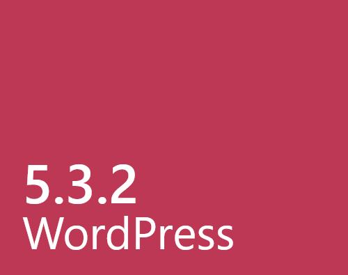 Wordpress 5.3.2 info på Teknikbloggen
