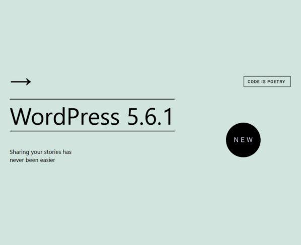 Wordpress 5.6.1